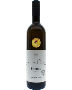 Vinařství Entrée - Ryzlink vlašský 2018, výběr z bobulí, polosladké
