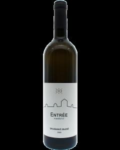 Vinařství Entrée - Sylvánské zelené 2020, pozdní sběr, suché