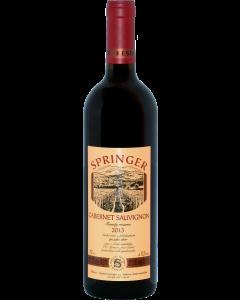 Vinařství Pavel Springer - Cabernet Sauvignon 2015, pozdní sběr, suché
