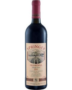 Vinařství Pavel Springer - Frankovka 2019, Family reserve suché