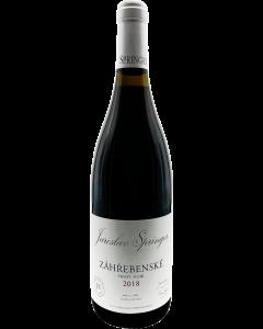 """Vinařství Stapleton & Springer - Pinot Noir 2018, """"Záhřebenské"""" suché, BIO"""