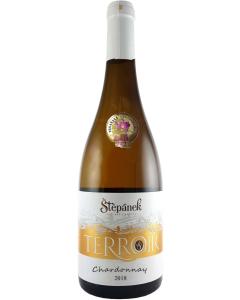 """Vinařství Štěpánek - Chardonnay 2018, výběr z hroznů """"Terroir"""" polosladké"""